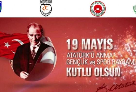 19 Mayıs 1919  Atatürk'ü Anma Gençlik Ve Spor Bayramımız Kutlu Olsun